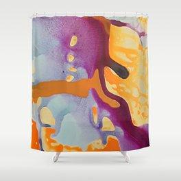 Fluid Motion No. 2 Shower Curtain