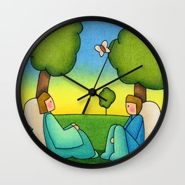 Repose Wall Clock
