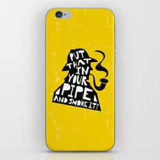 Smoke It! iPhone & iPod Skin