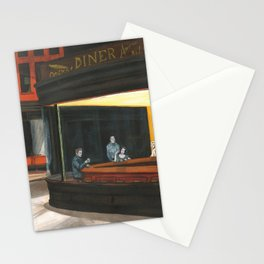 Tribute classic hollywood THE DINER Marilyn Monroe, Liz Taylor, James Dean & Frank Capra Stationery Cards