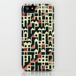 Abstract Geometric Artwork 101 iPhone Case