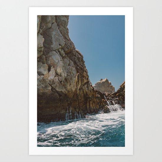 Cabo San Lucas X Art Print