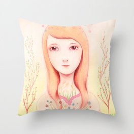I Am Love Throw Pillow