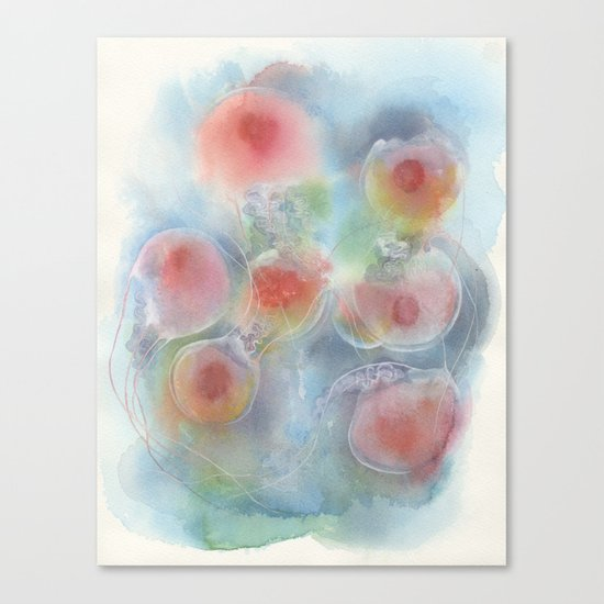 Floating No.1 Canvas Print