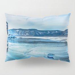 Lake Baikal. March Pillow Sham