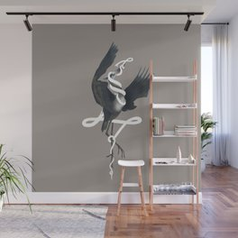 Anxiety (White Variant) Wall Mural