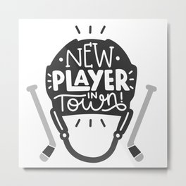 New player in town Metal Print