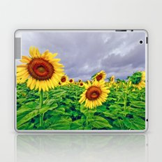 Enchanted Sunflowers Laptop & iPad Skin