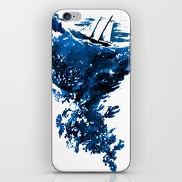 The calm before the storm iPhone Skin