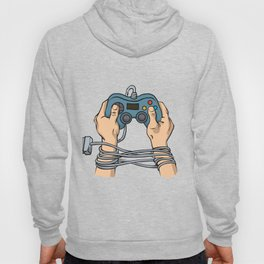 Hands tied by wire Hoody