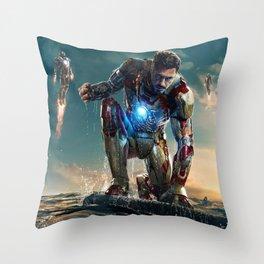Avenged! Iron Man Throw Pillow