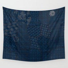 Sashiko - random sampler Wall Tapestry
