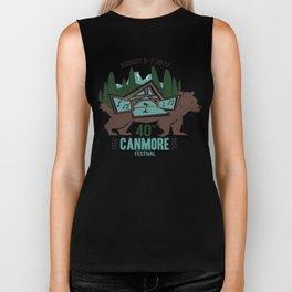 Canmore Folk Festival 40th Anniversary Biker Tank