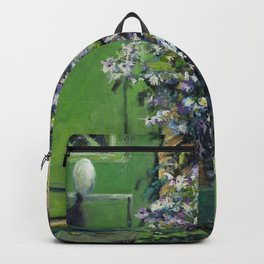Monet's Entry — Giverny, France Backpack