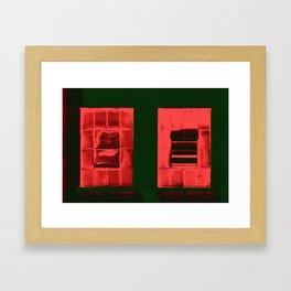 """""""Red Windows"""" Framed Art Print"""