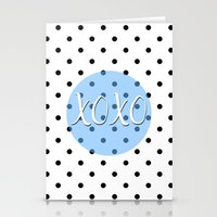 xoxo Stationery Cards featuring XOXO by Pati Designs