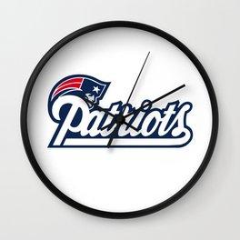 New England Patriotss Wall Clock