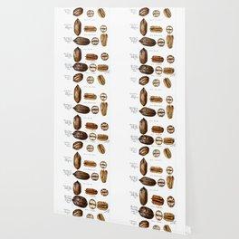 Nuts - Fruit Illustration Wallpaper