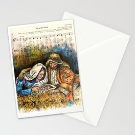 Joy to the Word Stationery Cards