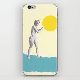 She Caught the Sun iPhone Skin