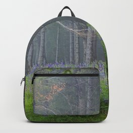 Lupines At The Forest's Edge Backpack