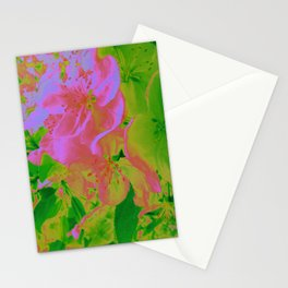 Pink Passion Crabapple Stationery Cards