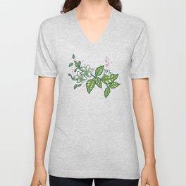 Blooming chili Unisex V-Neck