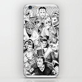 Vintage Goalies iPhone Skin