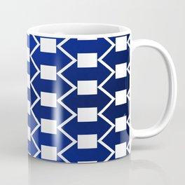 Gradient Blue Arrows Coffee Mug