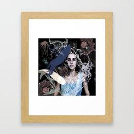 Summer Acid Dreams Framed Art Print