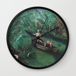 The Swamp Wall Clock