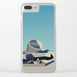 Soviet Modernism: Youth Metro Station in Yerevan, Armenia Clear iPhone Case