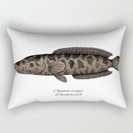 Snakehead Rectangular Pillow
