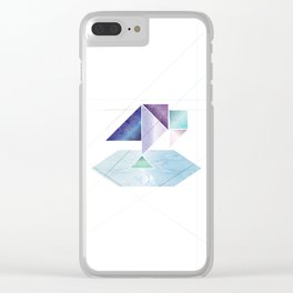 Pondering Pica Clear iPhone Case