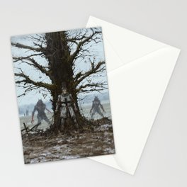 Brother Zygfryd and the Last Crusade Stationery Cards