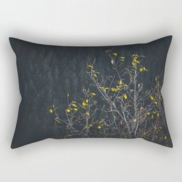 Nature photo - autumn forest in Slovakia Rectangular Pillow