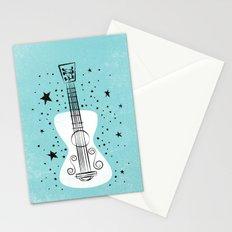 POP GUITAR Stationery Cards