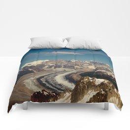ALASKA I: Ruth Glacier beneath Denali ~ The Great One ~ Mt. McKinley Comforters