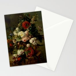 """Harmanus Uppink """"Still Life with Flowers"""" Stationery Cards"""