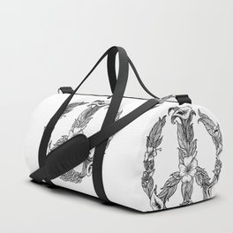 Peace - Flower Duffle Bag