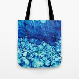 Under The Waves Tote Bag
