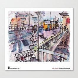 """Rolf Schröter, """"Wschschrrrrh"""" Canvas Print"""