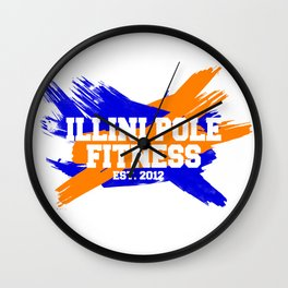 IPF Paint Design Wall Clock