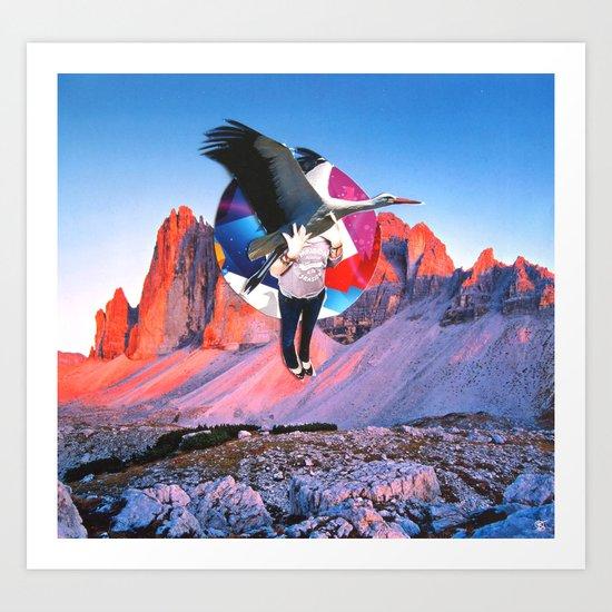 Surreala Alpina 1 Art Print
