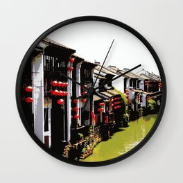 Suzhou, Old Town Wall Clock