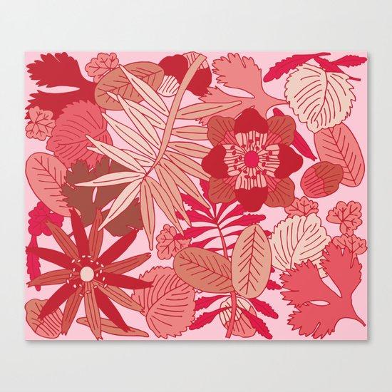 Botanic in Rose Canvas Print