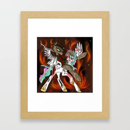 Celestia's Nightmare  Framed Art Print