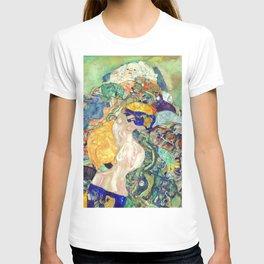 "Gustav Klimt ""Baby (Cradle)"" T-shirt"