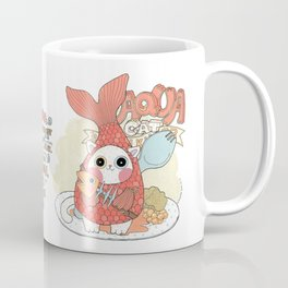 Aqua cat_ Rappa Coffee Mug
