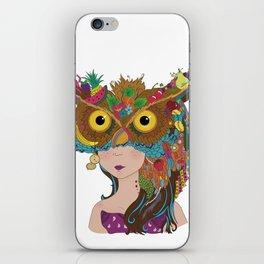 Strigidae - Masquerade Collection iPhone Skin